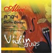 Скрипичные струны Alice A704