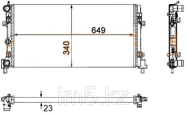 Радиатор AUDI A1/S1 10-