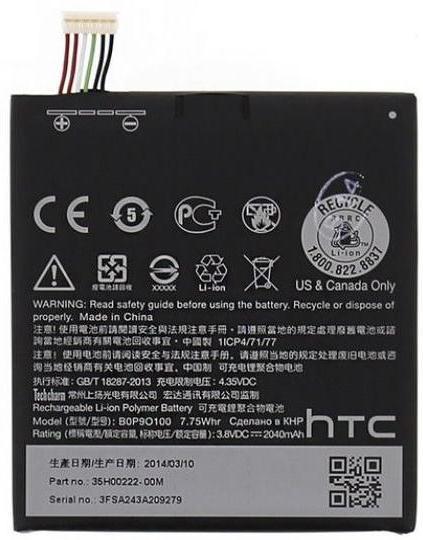 Заводской аккумулятор для HTC Desire 610 (BOP90100, 2040mah)