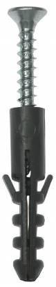 """Дюбель распорный полипропиленовый, тип """"ЕВРО"""", в комплекте с шурупом, 12 х 60 / 6,0 х 80 мм, 4 шт, ЗУБР, фото 2"""
