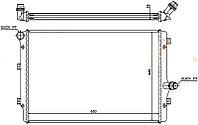 Радиатор VOLKSWAGEN BEETLE (A5) 11-