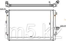 Радиатор AUDI A3/S3 03-12 (турбо)