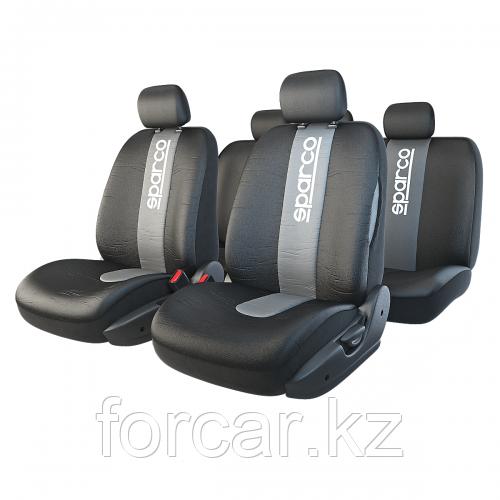 Чехлы на сиденья Racing со швами под airbag