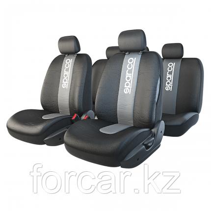 Чехлы на сиденья Racing со швами под airbag, фото 2
