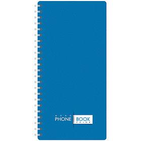 """Телефонная книга А5, 80л., на гребне """"Офис. Monocolor"""", с высечкой"""