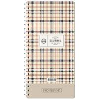 """Телефонная книга А5, 80л., на гребне """"Шотландка"""", с высечкой"""