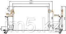 Радиатор кондиционера AUDI A4/S4 94-98