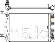 Радиатор  AUDI A6/ S6 2.0T / 2.0TD 04-