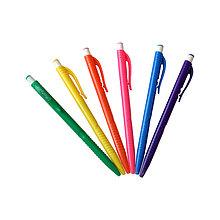 """Ручка шариковая автоматическая """"OfficeSpace"""", синяя, 0,7мм, цветной корпус"""