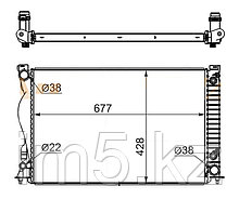 Радиатор AUDI ALLROAD 3.0 / 3.2 06-