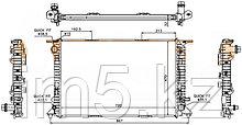 Радиатор AUDI Q5 08-