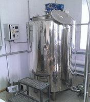 Танк для хранения молока ТМВ-0,6