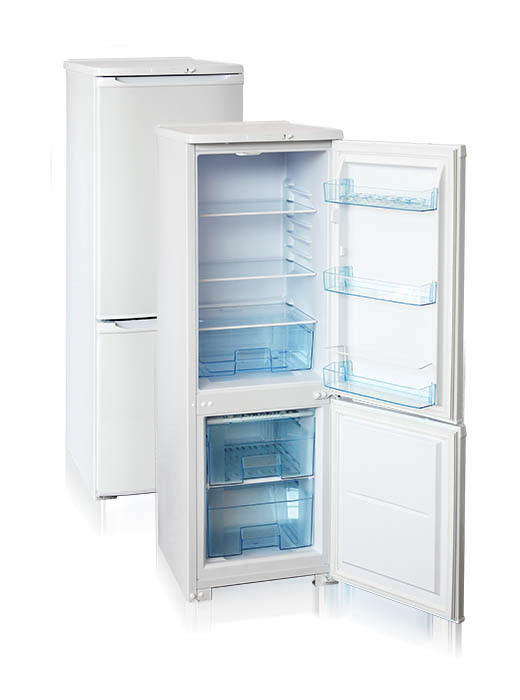 Холодильник двухкамерный  Бирюса-R118CA (1450*480*605 мм) белый