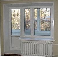 Металлопластиковые балконные группы