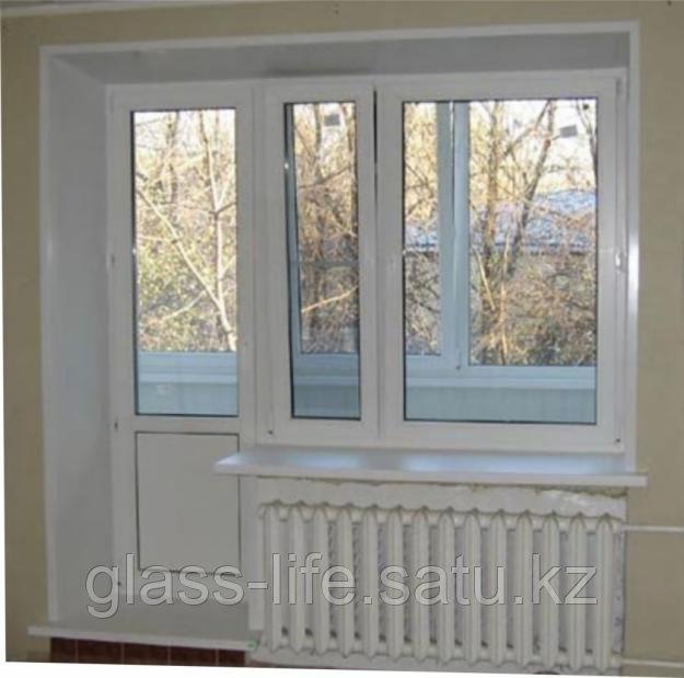 Металлопластиковые балконные группы - фото 1