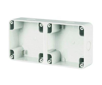 Коробка для настенной установки на 2 поста