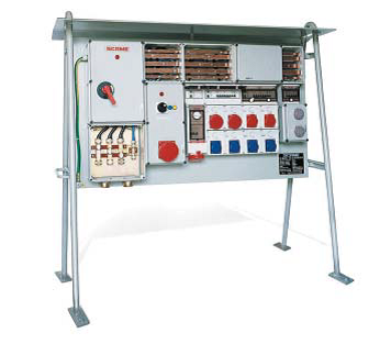 Рама для установки настенных разъемов 1130x1000