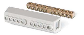 Дополнительный клеммный блок для установки на фиксатор