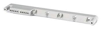 Фиксатор на 3 клеммных блока с установленными 3 клеммными блоками. Для корпусов типа M550 на 16 модулей или M400 на 16 м