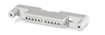 Клеммный блок для корпусов типа M340 на 8 модулей