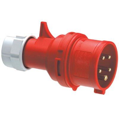 Вилка кабельная IP44 32A 3P+E 400V