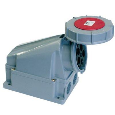 Розетка наружной установки IP67 125 A 2P+E 230V