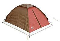"Палатка ""High Peak"" Мод. MONODOME PU(2-x местн.)(205x150x105см)(2,20кГ)(нагрузка: 1.000мм)(бежевый/коричневый), фото 1"