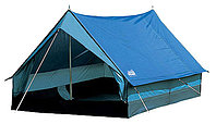 Палатка HIGH PEAK Мод. MINIPACK 2 (2-x местн.)(190x120x95см)(1,60кГ)(нагрузка: 1.000мм)(серый/красный) R 89002