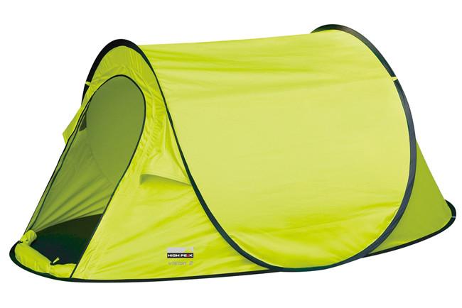 Палатка HIGH PEAK Мод. VISION 2 (2-x местн.)(235x140x100см)(1,90кГ)(нагрузка: 1.000мм) R89012 - фото 1