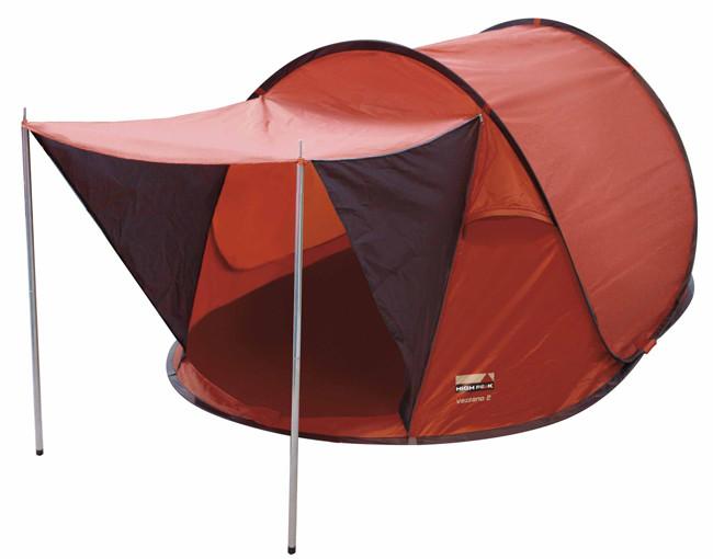 Палатка HIGH PEAK Мод. VEZZANO 2 (2-x местн.)(230x140x95см)(2,70кГ)(нагрузка: 2.000мм) R89008 - фото 1