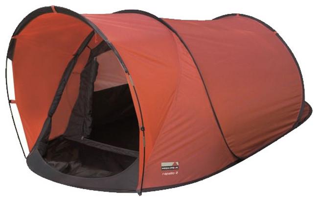 Палатка HIGH PEAK Мод. RAPALLO 2 (2-x местн.)(210+60x130x90см)(3,30кГ) (нагрузка: 2.000мм) R89013 - фото 1