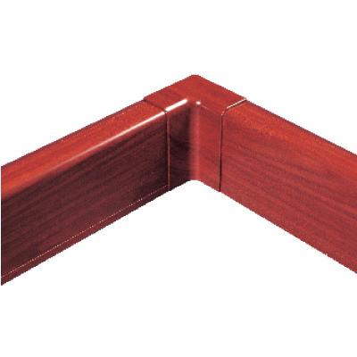 Внутренний угол для плинтусного короба 100х40 мм (ламинированный под дерево)