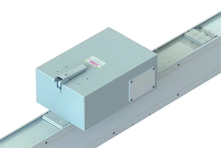 Коробка отвода мощности, под плавк. предохр., 3P+N+Fe, 250А