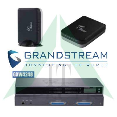 VоIP адаптер Grandstream (Handy Tone - HT и GXW)