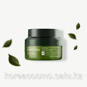 Крем на основе ферментированного экстракта зелёного чая Tony Moly Chok Chok Green Tea Watery Cream