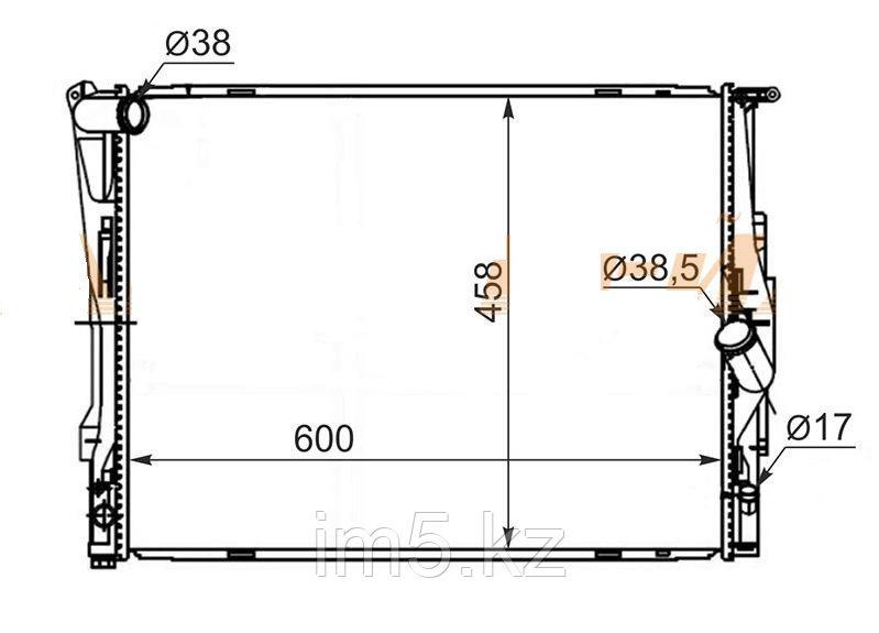 Радиатор BMW 3-SERIES E90 05-