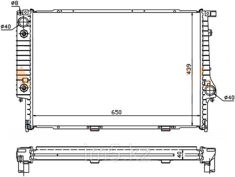 Радиатор BMW 7-SERIES E32 87-94