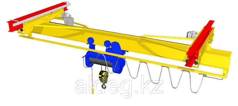 Краны мостовые электрические однобалочные подвесные г/п 10 т
