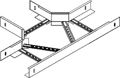 Секция тройниковая НЛ -для разветвления трассы в горизонтальной плоскости
