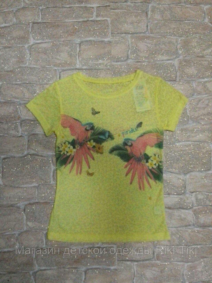 Яркая,легкая футболка для девочки