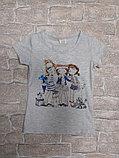 Стильная футболка для девочки, фото 2