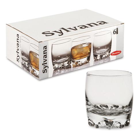 Набор стаканов для виски Pasabahce Sylvana 300 мл. 6 шт (42415/6)