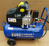 Воздушнsq компрессор EURO STANDART 100 литров, фото 1