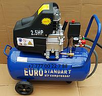 Воздушный компрессор EURO STANDART 25 литров