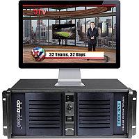 TVS-1200 HDSDI Виртуальная Студия