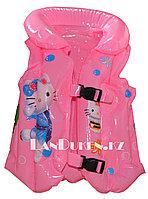 """Надувной спасательный жилет для плавания """"КИТИ"""" (SWIMMING VEST розовый)"""