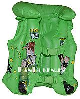 """Надувной спасательный жилет для плавания """"BEN 10"""" (SWIM VEST зеленый)"""