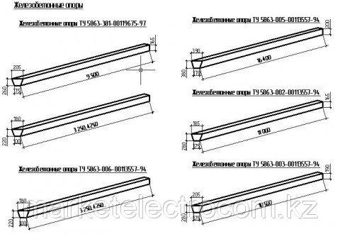 Стойки вибрированные СВ 95,СВ 105,СВ 110,СВ 164
