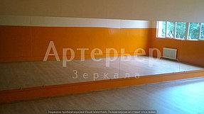 Установка зеркала в танцевальный зал, 20 июня 2016, г. Алматы 2