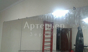Монтаж зеркал в спортивный зал, 18 июня 2016, г.Алматы 5